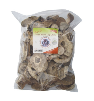 5lb bag for $35 - totally worth it. Snook's Dog Chews